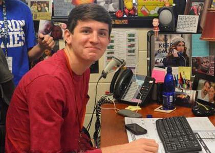 Clinton High School senior Clay Webb has produced a lip dub video that's getting lots of attention.